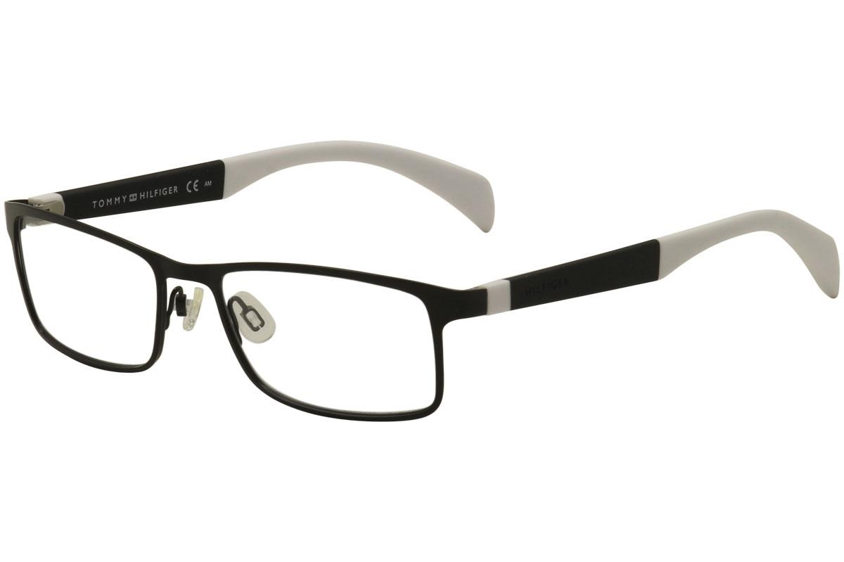 c468c4f2978d Tommy Hilfiger Men's Eyeglasses TH1259 TH/1259 Full Rim Optical Frame