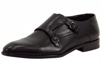 Hugo Boss Men's Dressapp Double Buckle Monk Strap Oxfords Dressy Shoes