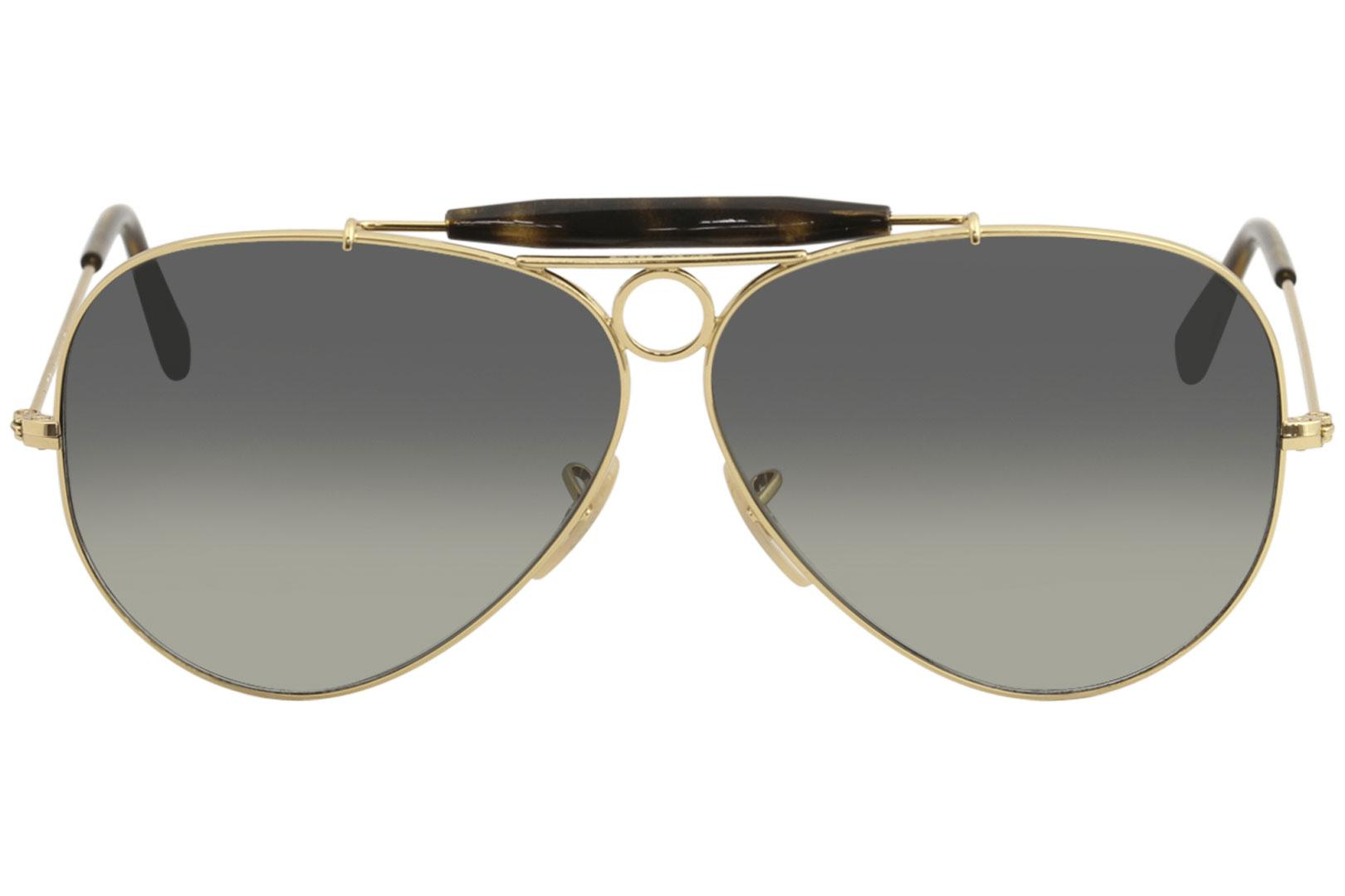f3cd92d7e6 ... shopping ray ban mens shooter rb3138 rb 3138 rayban fashion aviator  sunglasses b22b6 ae949