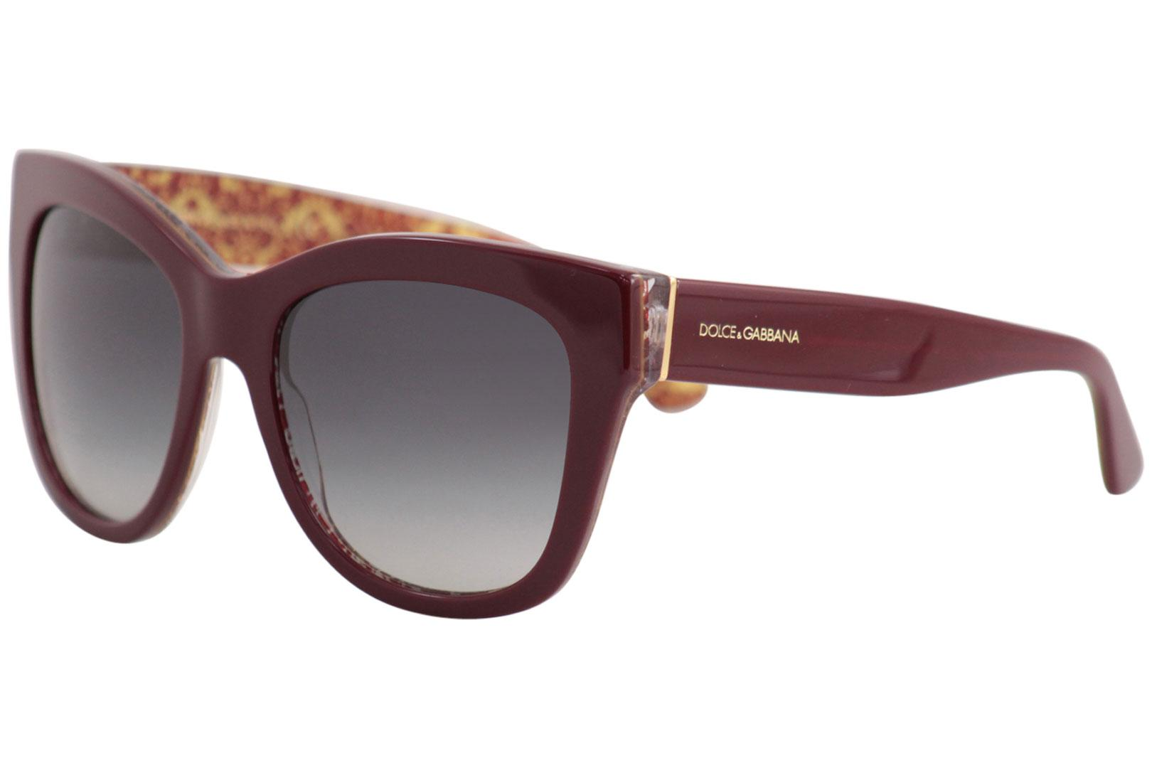 52b60ccaa2 Dolce   Gabbana D G DG4270 DG 4270 3205 8G Bordeaux Square ...