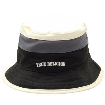3ae69853199 True Religion Men s Color Blocked Reversible Cotton Bucket Hat