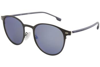 Hugo Boss Men's 1008S 1008/S Fashion Round Sunglasses