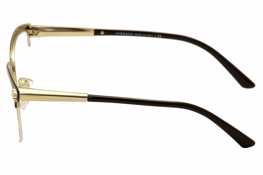 28aafcc8b00b Versace 0ve1235 Eyeglasses Blackpale Gold 1371 Size 53mm for sale online |  eBay