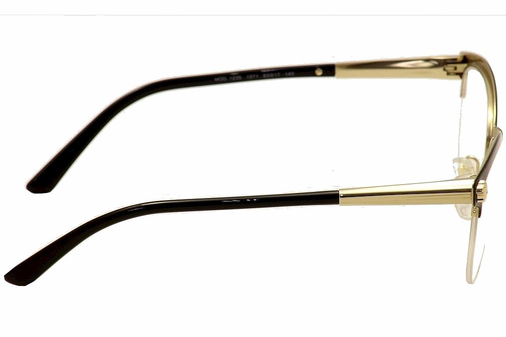 563ea38a80741 Versace Women s Eyeglasses VE1235 VE 1235 Half Rim Optical Frame by Versace.  1234567