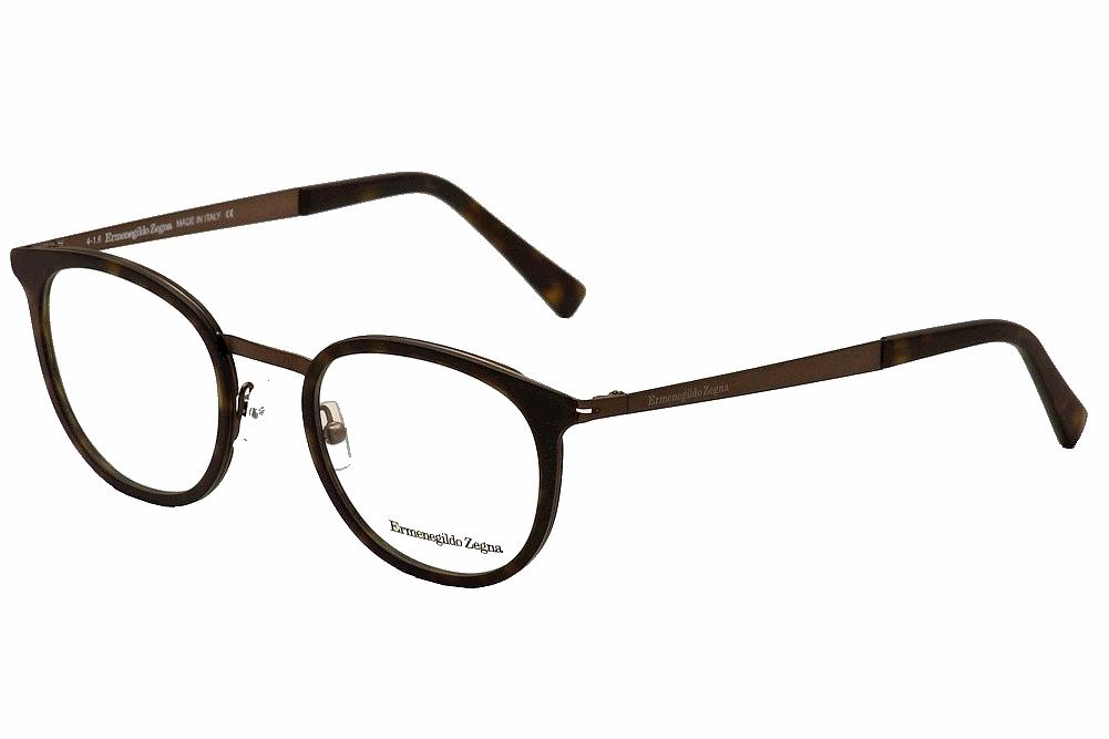 c9500ecb3be Ermenegildo Zegna Men s Eyeglasses EZ5048 EZ 5048 Full Rim Optical Frame