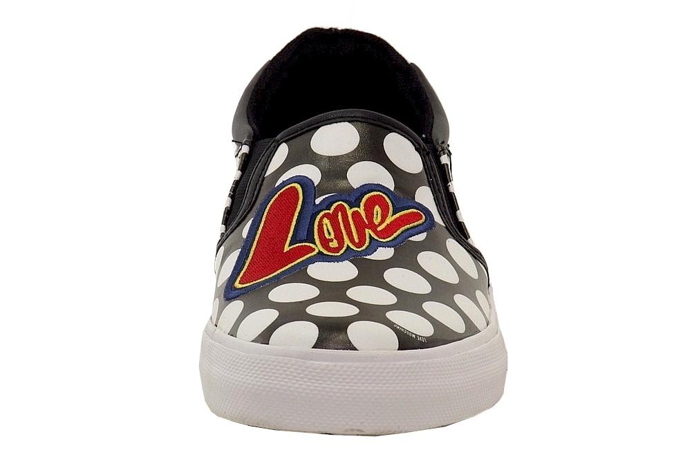 ab02f3ff5da Love Moschino Women s Polka Dot Fashion Slip-On Sneakers Shoes by Love  Moschino