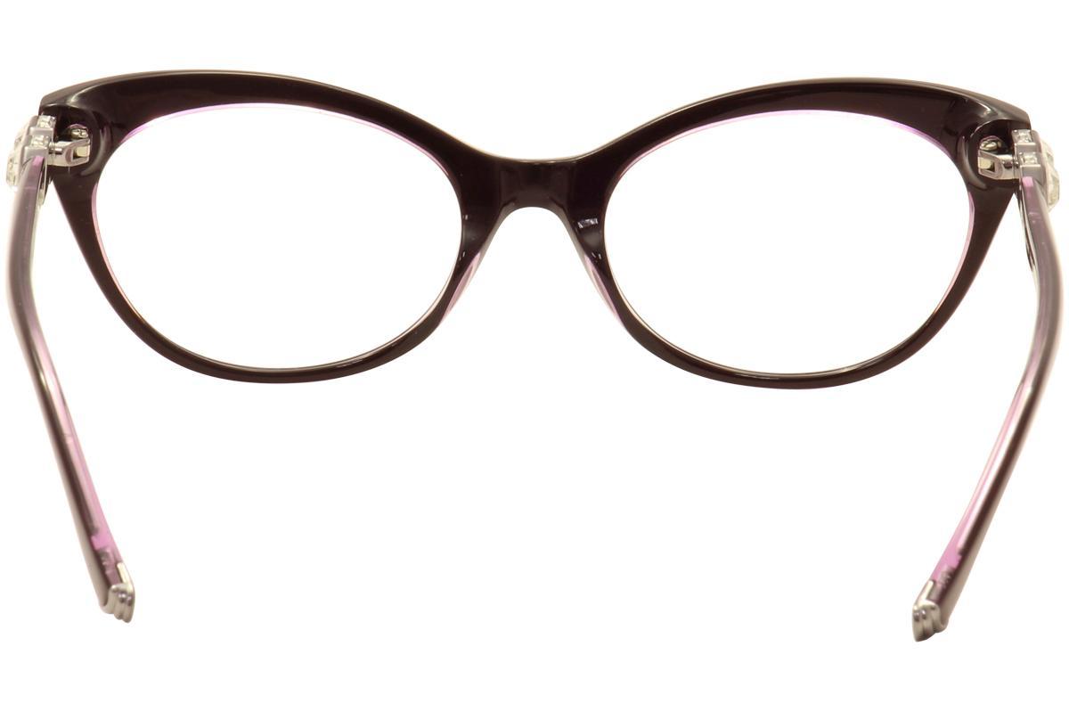 2ecaf4f48e4 Judith Leiber Couture Women s Supernova Eyeglasses Full Rim Optical ...
