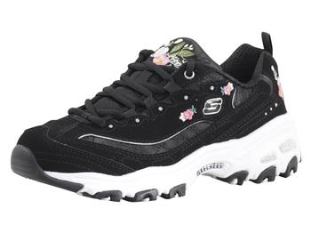 Skechers Women's D'Lites Bright Blossoms Memory Foam Sneakers Shoes