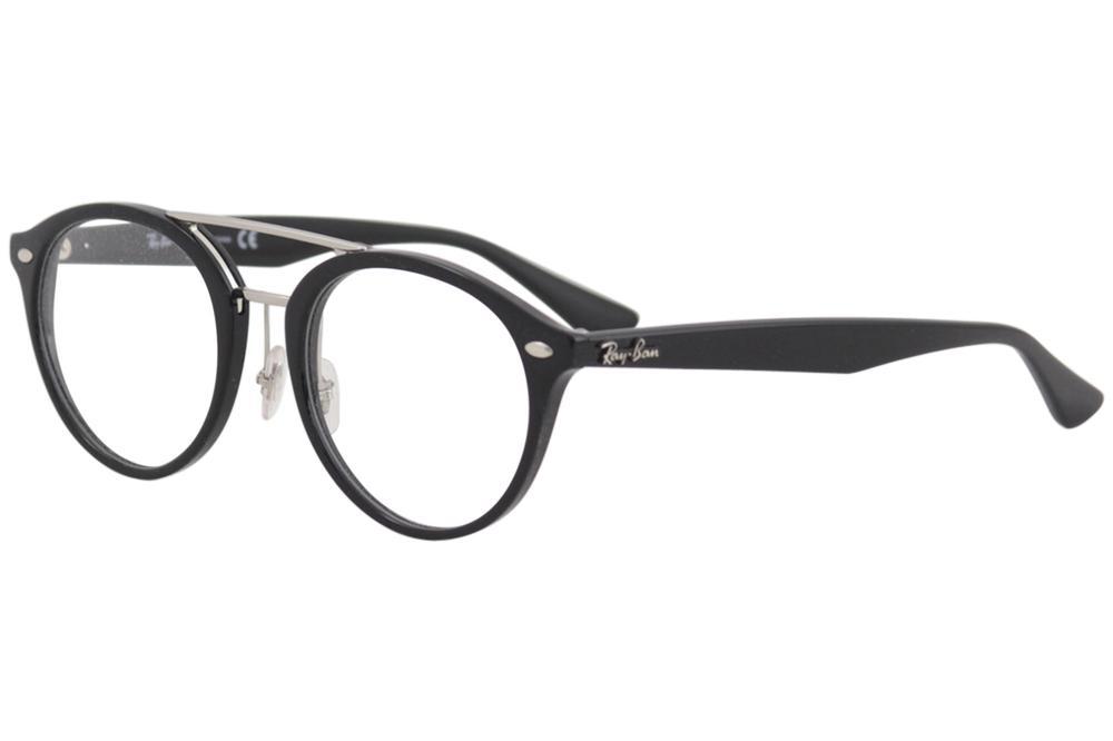 6abe19815a8 Ray Ban Eyeglasses RX5354F RX 5354 F 2000 RayBan Shiny Black Optical ...