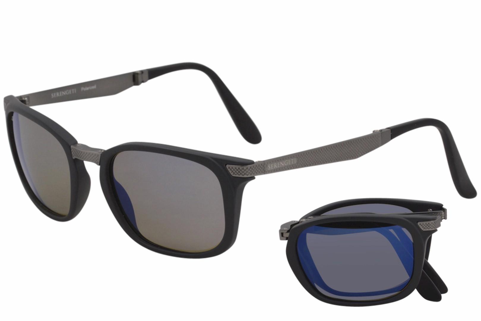 e9213fd23d3b Serengeti Men s Volare 8495 Polarized Folding Sunglasses