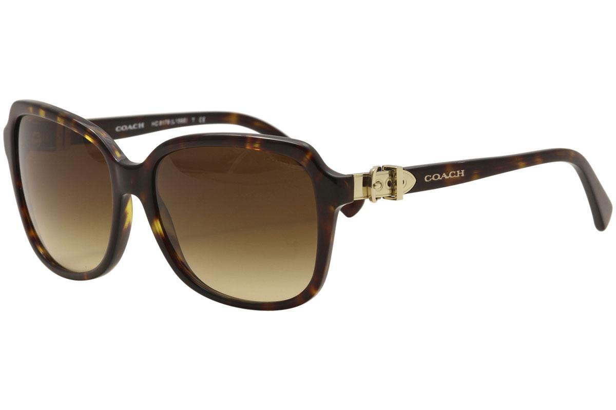 0d24eeb2aad buy coach womens l1598 hc8179 hc 8179 square sunglasses 6bb6c 6a2bb