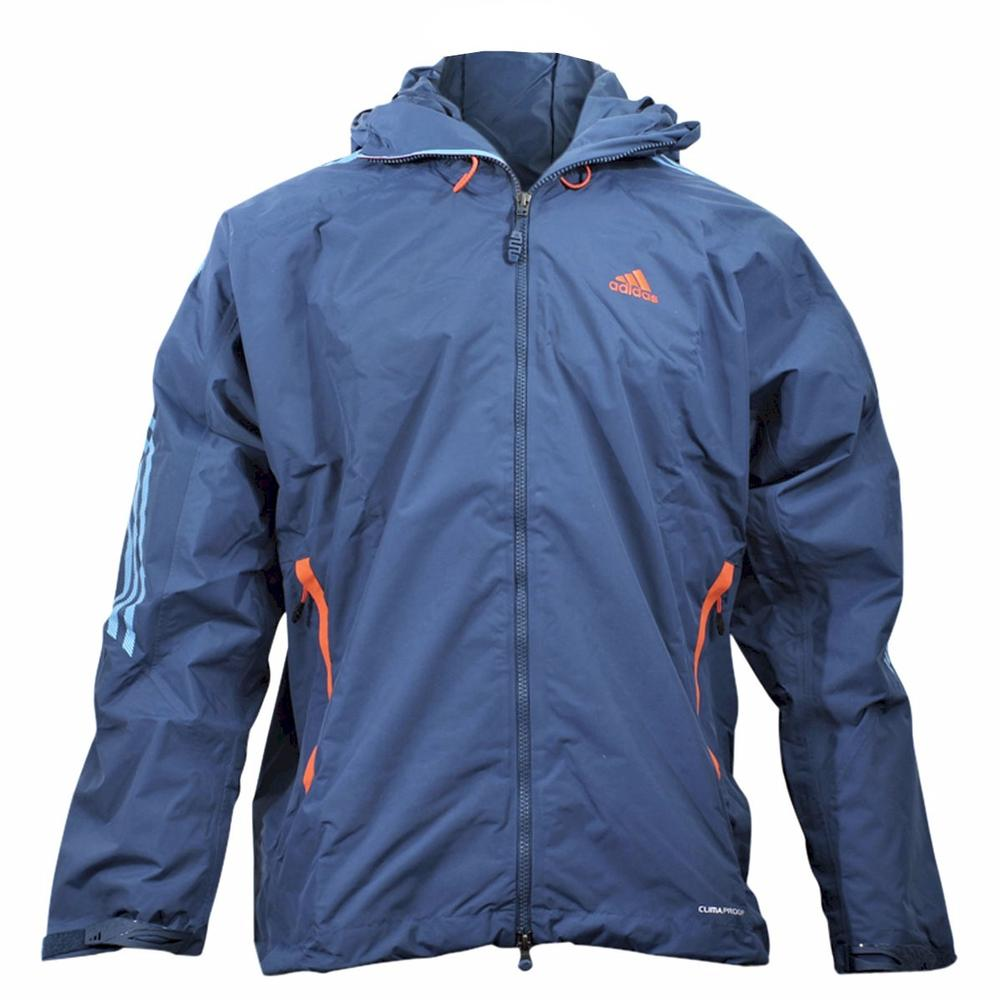 306e8d8d9 Adidas Men's Blue Climaproof Light Jacket ST #11648 by Adidas