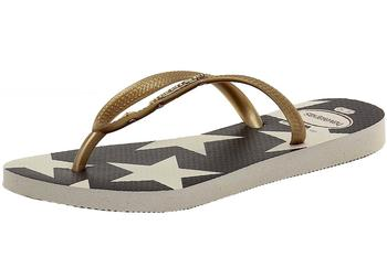 Havaianas Women's Slim Stars & Stripes Fashion Flip Flops Sandals Shoes  UPC: