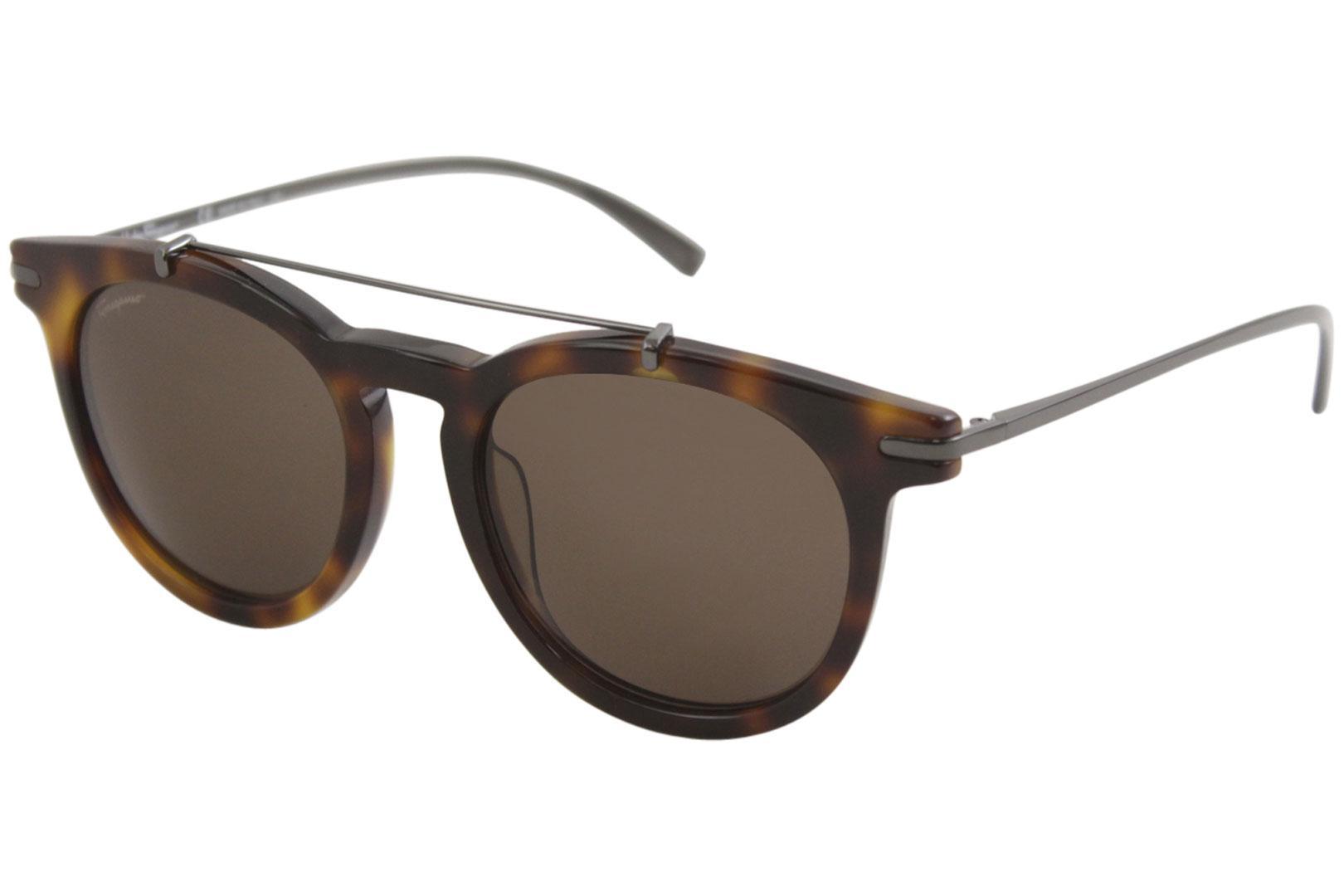 e666c50057e Salvatore Ferragamo Women s S821S SF 821 S Fashion Round Sunglasses