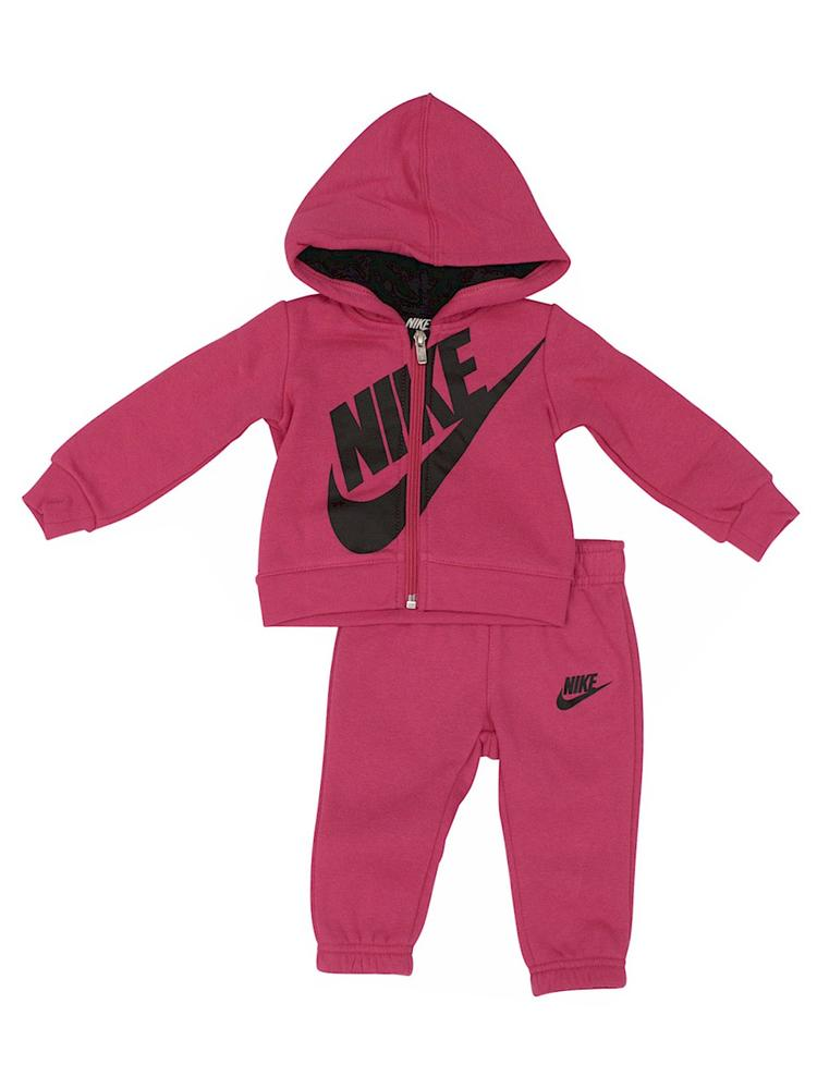 96e129f77fb0 Nike Infant Toddler Girl s 2-Piece Futura Fleece Hoodie   Pants Set ...