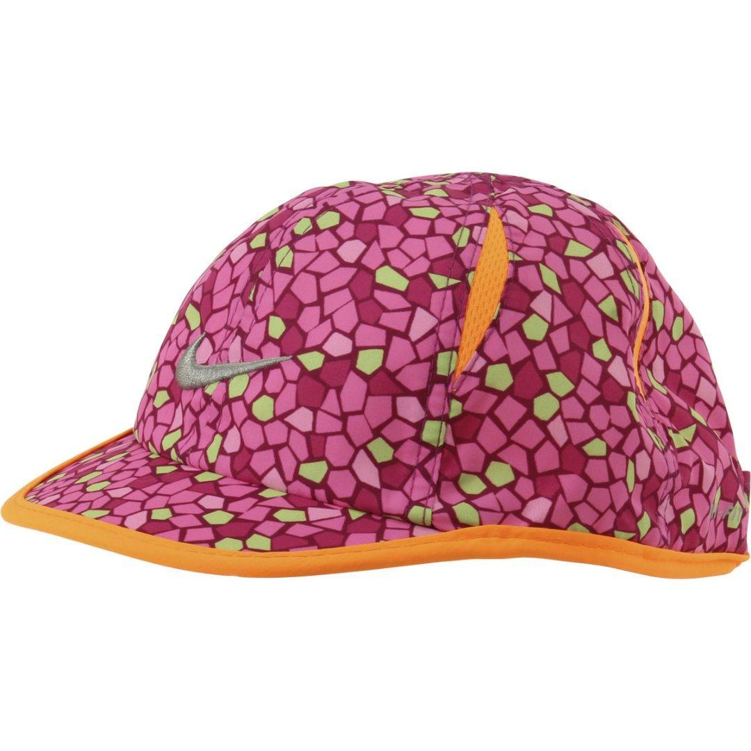 fa8c803c359 Nike Infant Girl s Feather Light Swoosh Logo Baseball Cap Hat by Nike. 12345