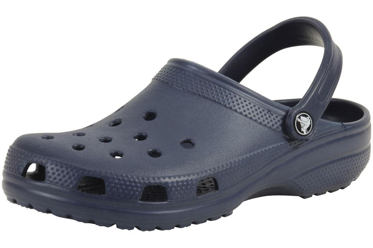 Image of Crocs Original Classic Clogs Sandals Shoes - Navy - 10 D(M) US/12 B(M) US