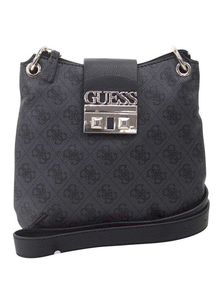08cf2fa20051 Guess Women s Logo Luxe Mini Tourist Crossbody Handbag