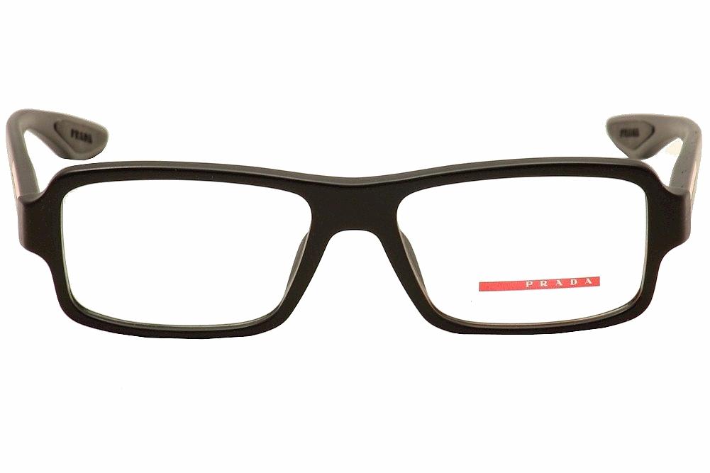2f8ae2eb1d Prada Men s Eyeglasses VPS 01G 01 G Full Rim Optical Frame by Prada. 1234567