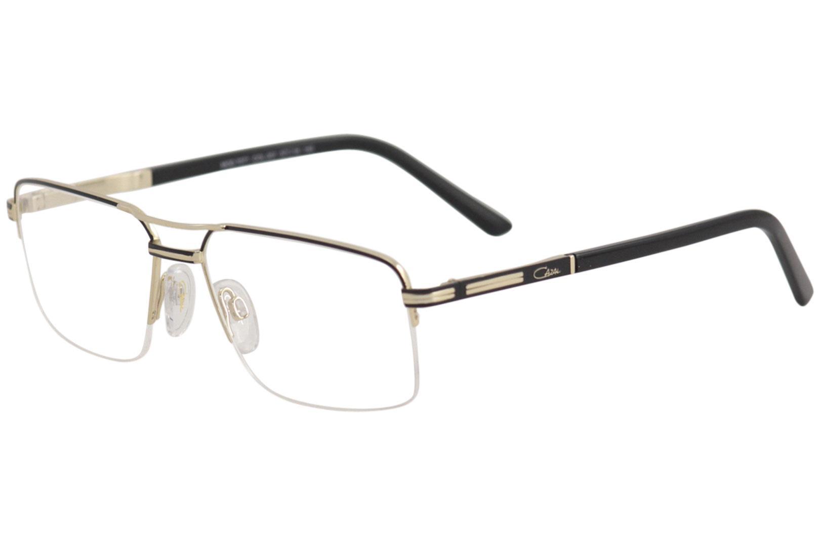 e55c9dfc7caa Cazal Men s Eyeglasses 7071 Half Rim Optical Frame by Cazal. Touch to zoom