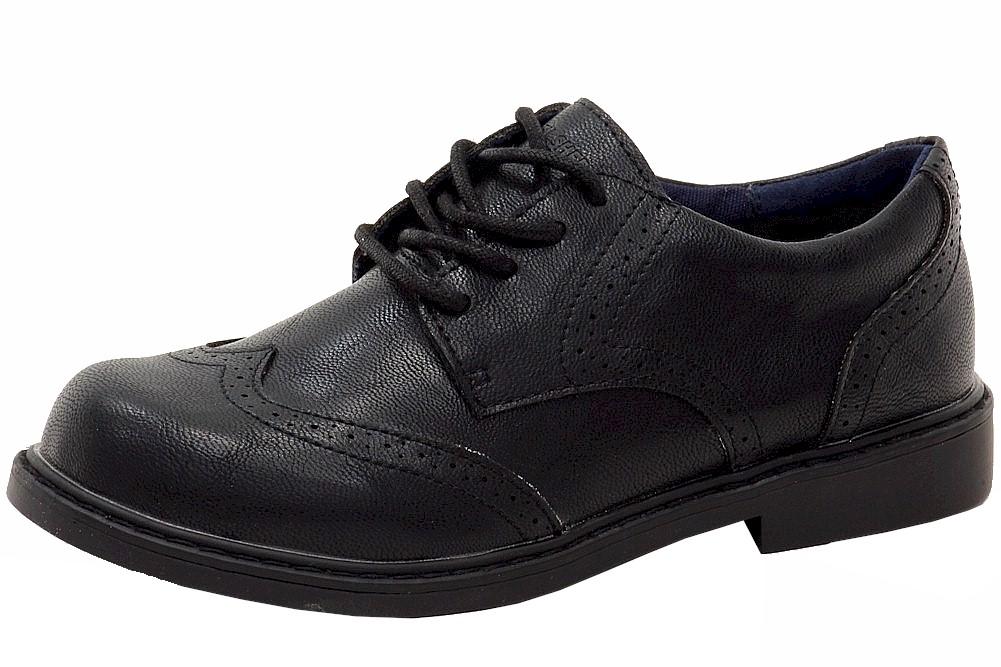 Image of Ben Sherman Boy's Bernie Fashion Oxfords Shoes - Black - 1.5 M US Little Kid