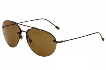 John Varvatos Men's V762 V/762 Aviator Sunglasses UPC: