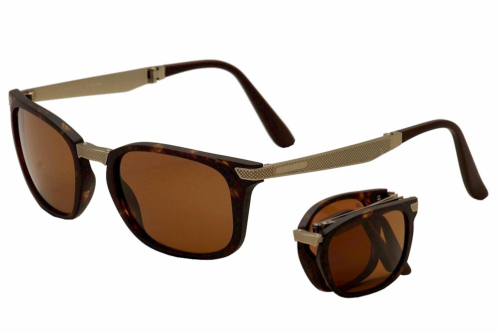 9f0cb7105382 Serengeti Men's Volare Polarized Folding Sunglasses