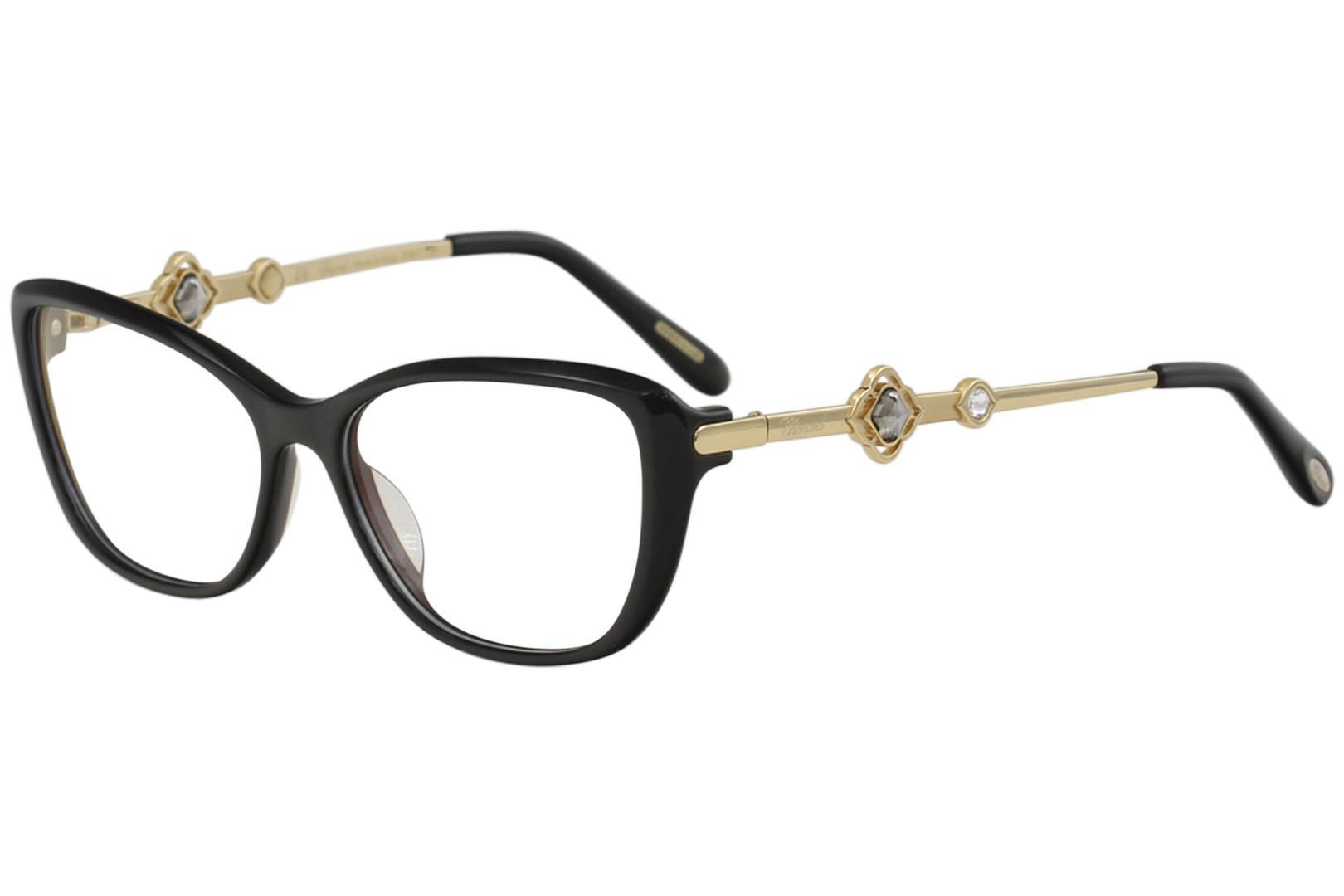 1f28c76f17 Chopard Eyeglasses VCH224S VCH   224S 0700 Black   23K Gold Full Rim  Optical Frame