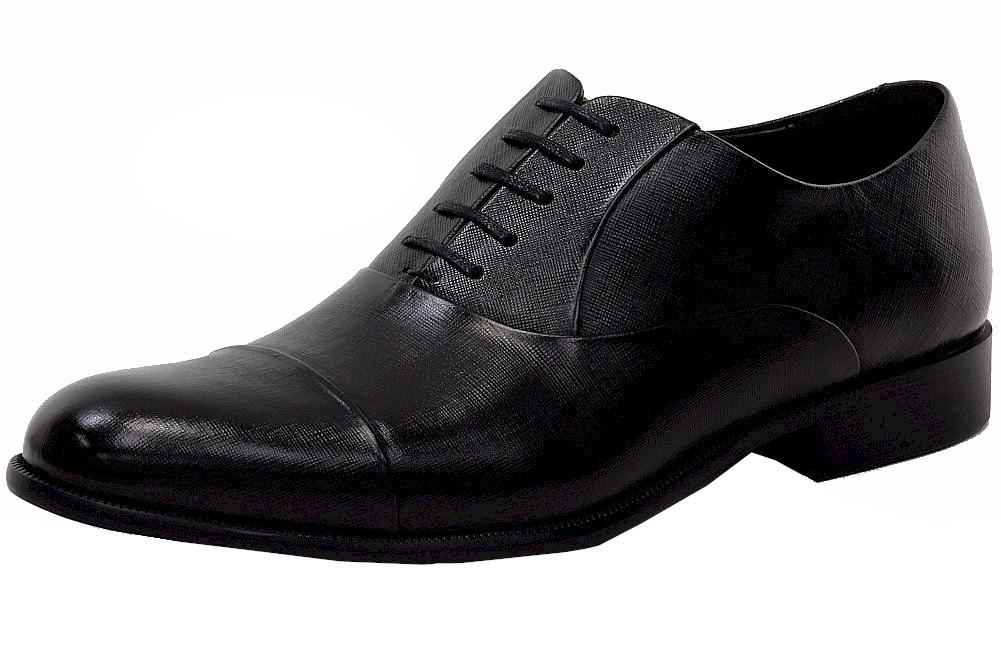 Image of Kenneth Cole Men's Chief Council Fashion Oxfords Shoes - Black - 10.5 D(M) US