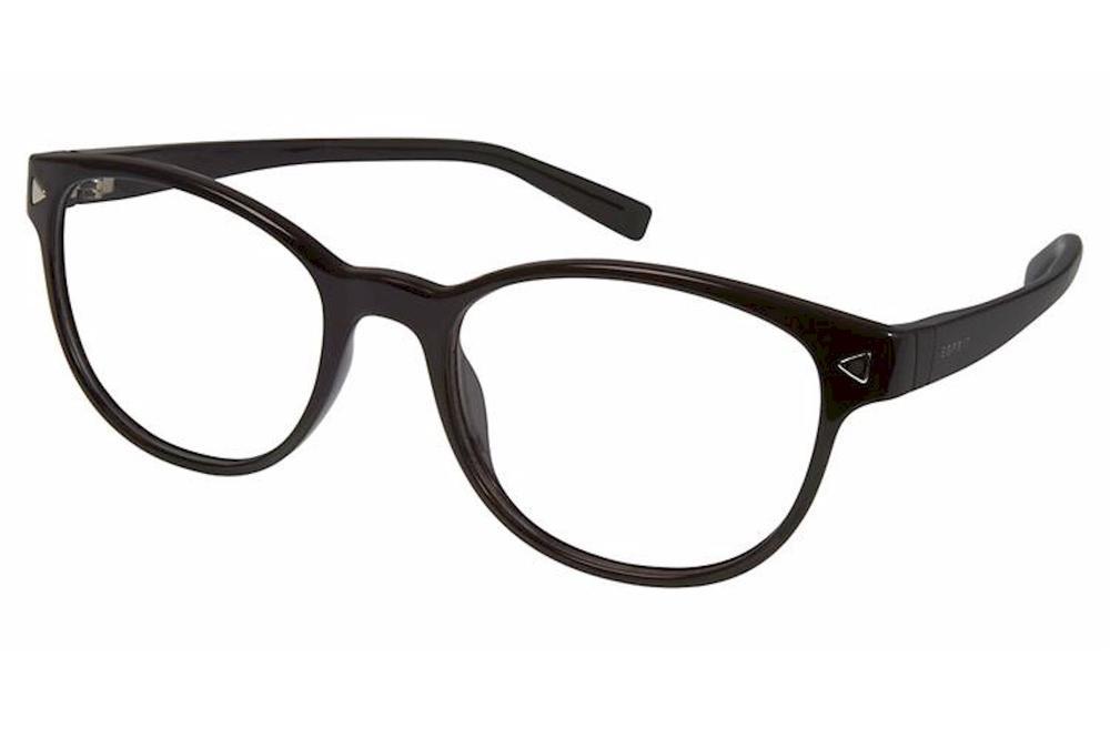 Image of Esprit Women's Eyeglasses ET17536 ET/17536 Full Rim Optical Frame - Black - Lens 49 Bridge 17 Temple 130mm