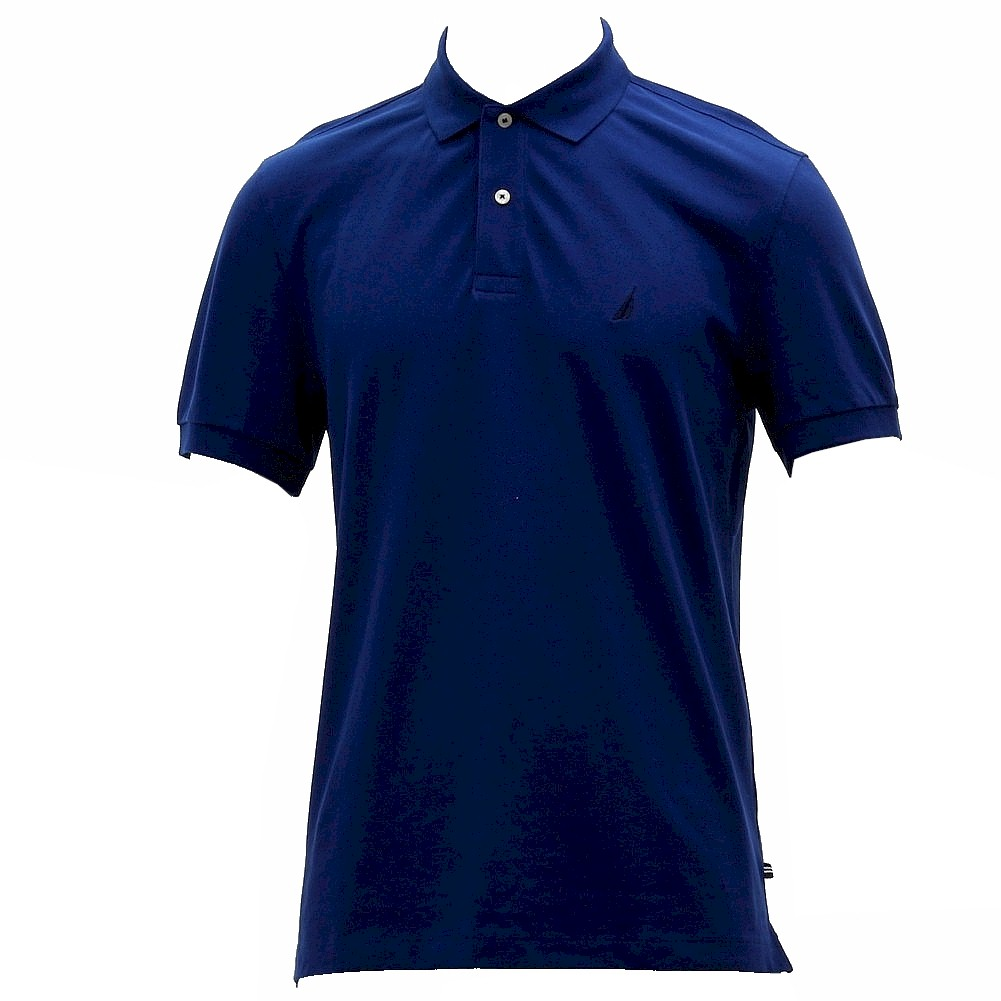 Nautica Men s Solid Deck Short Sleeve Classic Fit Polo Shirt
