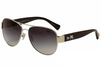 Coach Women's HC7059 HC/7059 Fashion Pilot Sunglasses UPC: