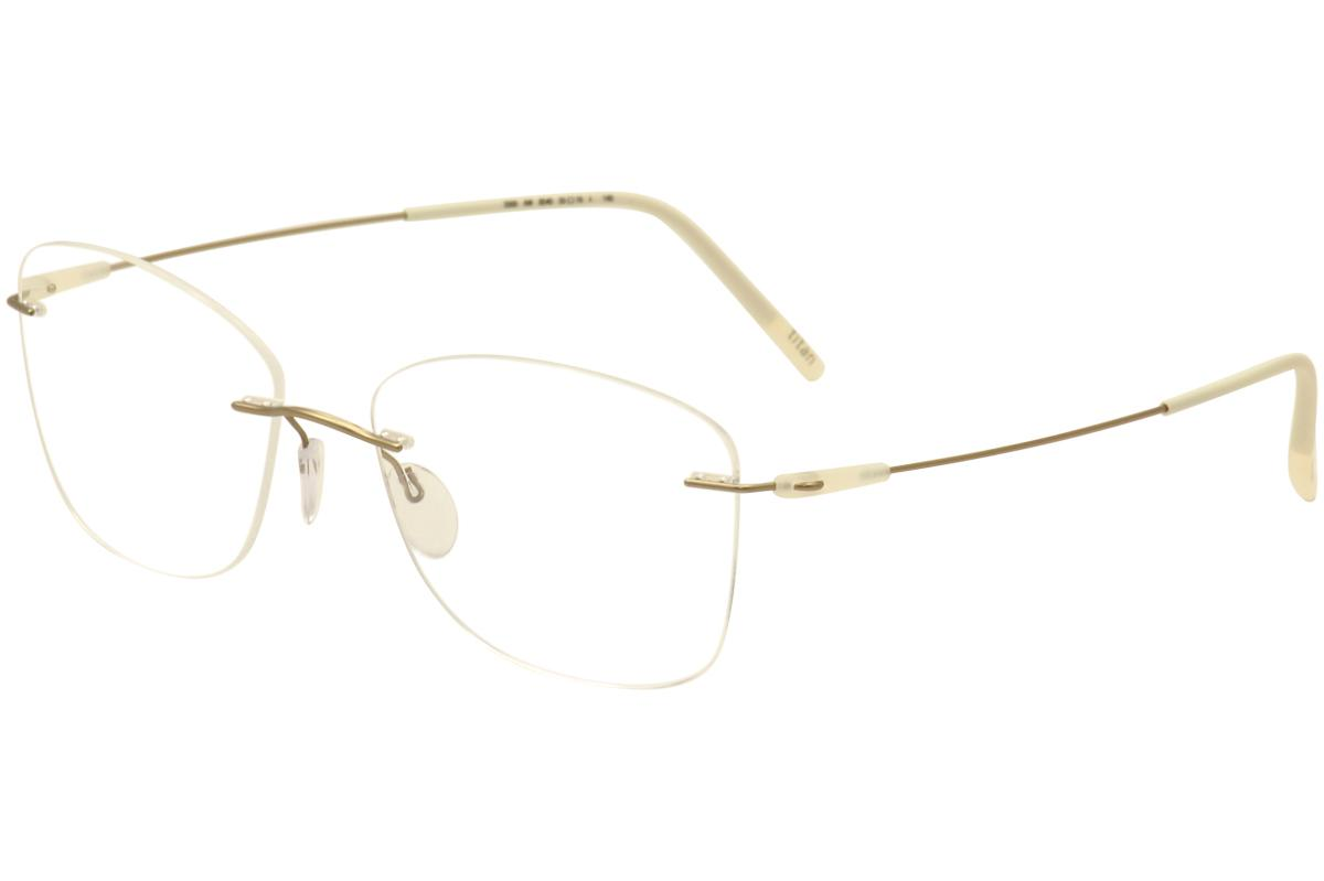 d0a2778161 Silhouette Eyeglasses Dynamics Colorwave Chassis 5500 Rimless Optical Frame  by Silhouette. Touch to zoom. 123456