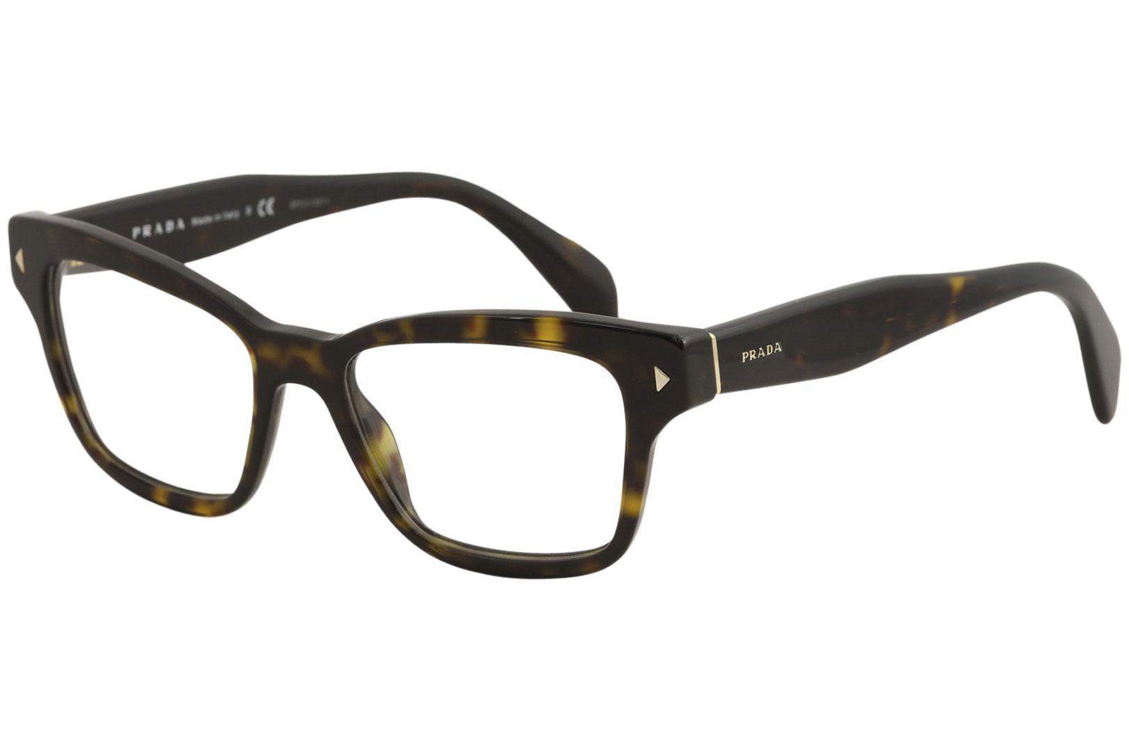 Prada Women\'s Eyeglasses VPR 10SF 10S-F Full Rim Optical Frame ...