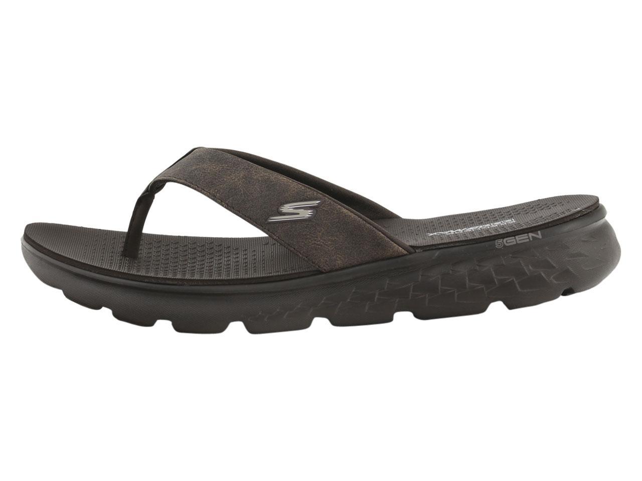 afa947468 Skechers Men s On-The-GO-400 Vista Flip Flops Sandals Shoes by Skechers.  1234567