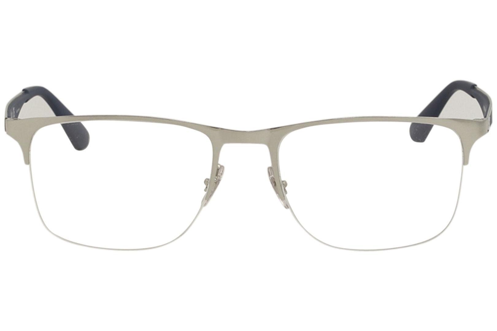 6a9eadf8d0 ... Eyeglasses RX6362 RX 6362 RayBan Half Rim Optical Frame by Ray Ban.  12345