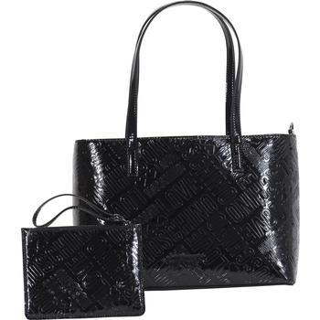Love Moschino Women's Embossed Logo Tote Handbag