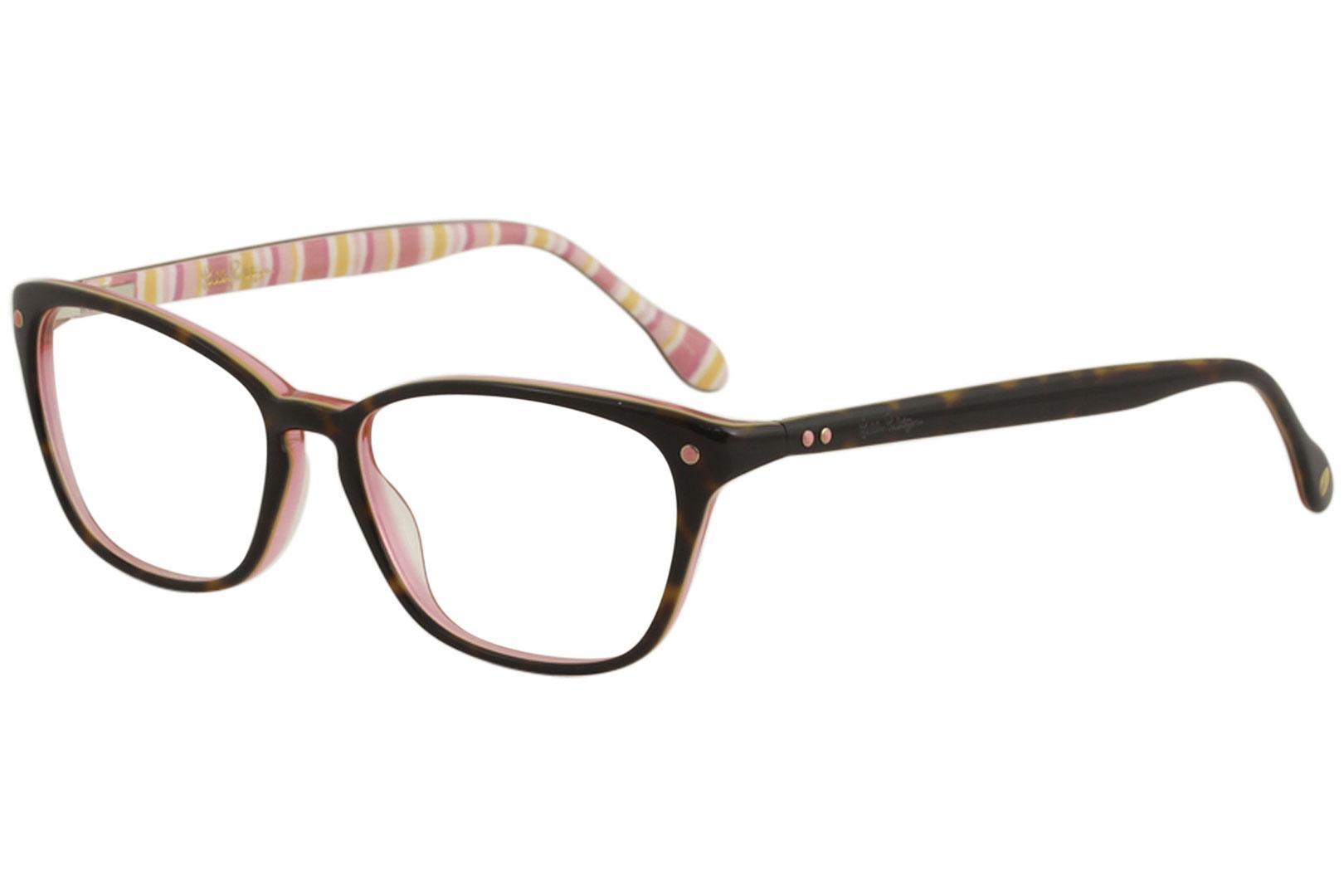 Lilly Pulitzer Women\'s Eyeglasses Kingsley Full Rim Optical Frame