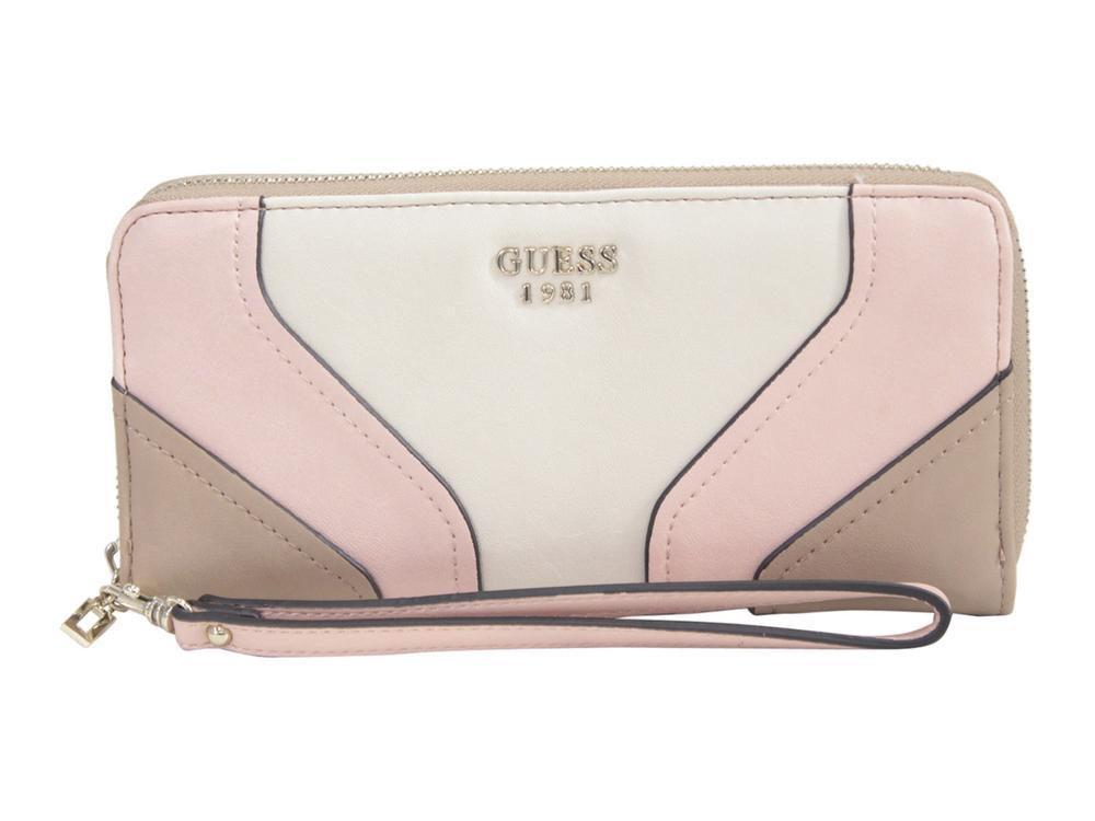 Guess Women's Islington Large Zip-Around Clutch Wallet