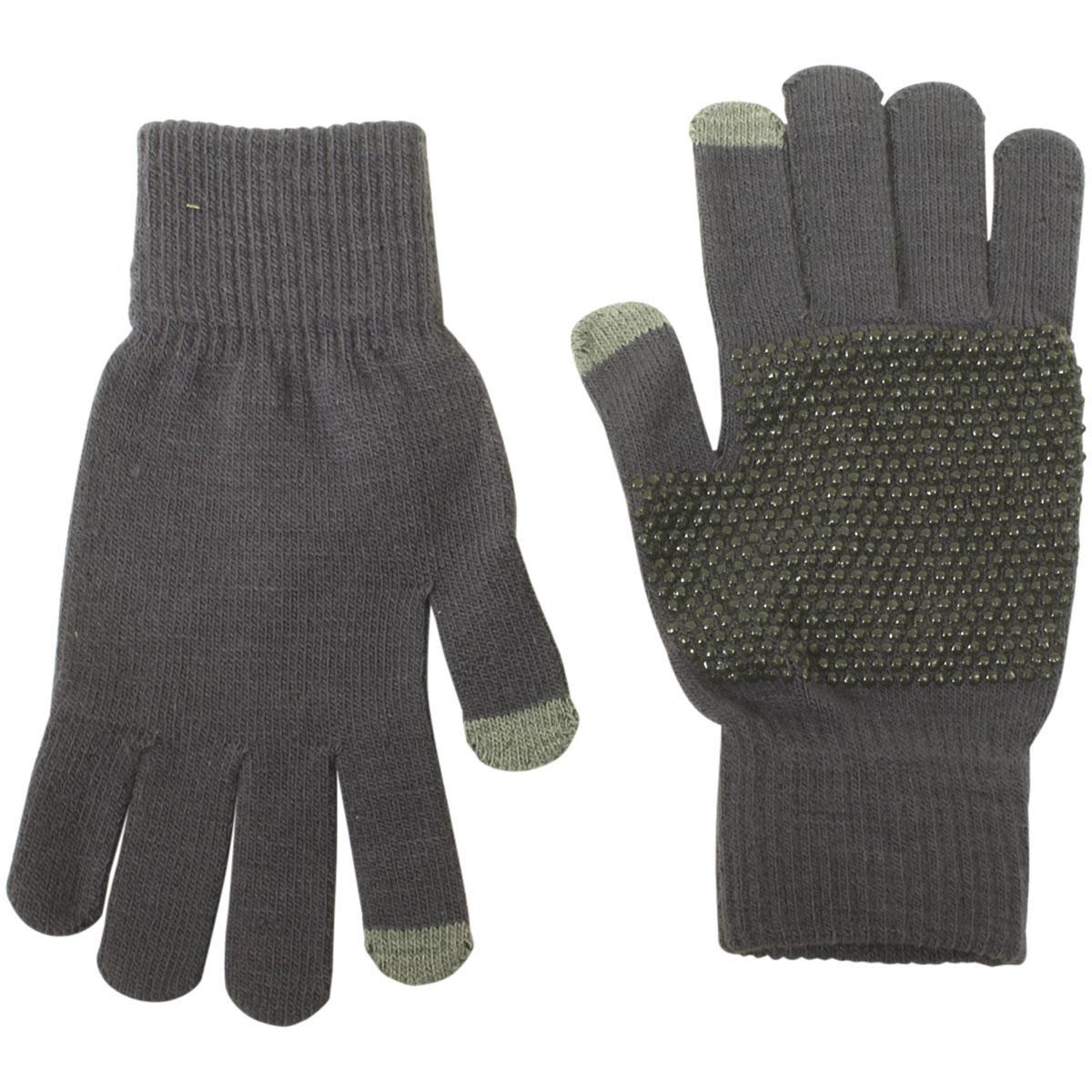 Dorfman Pacific Men's Touchscreen Magic Knit Gloves