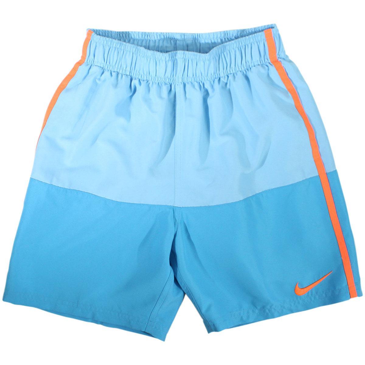 Nike Big Boy's Solid Split 6-Inch Trunks Swimwear