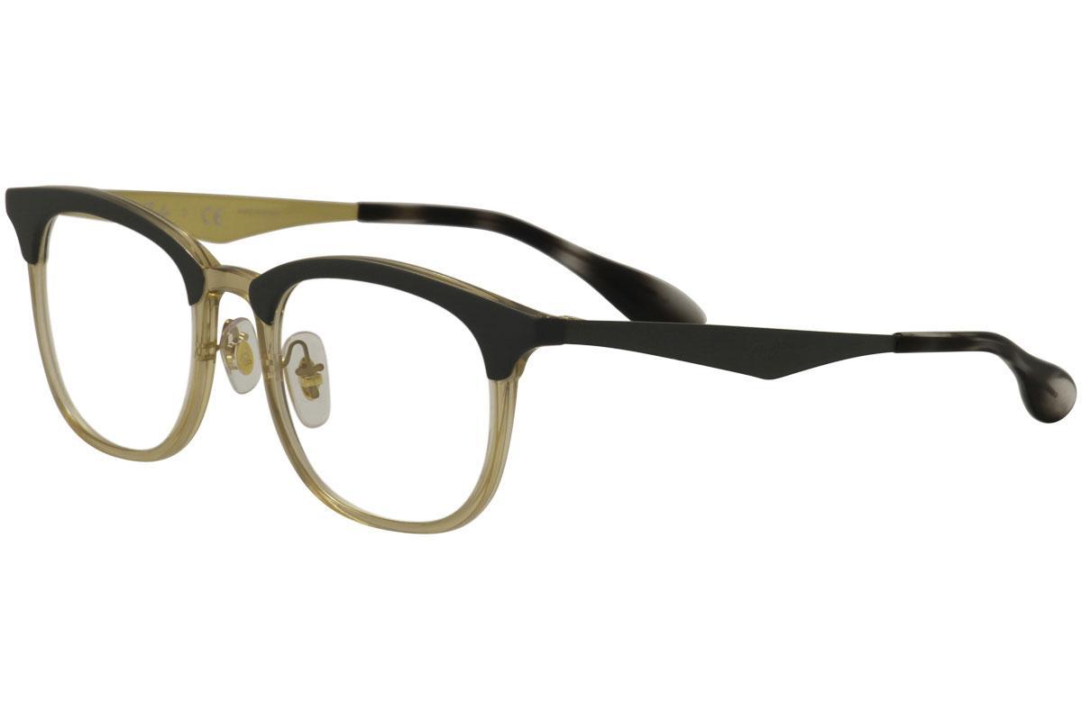f1600fdf3b39 Ray Ban Men's Eyeglasses RB7112 RB/7112 RayBan Full Rim Optical Frame