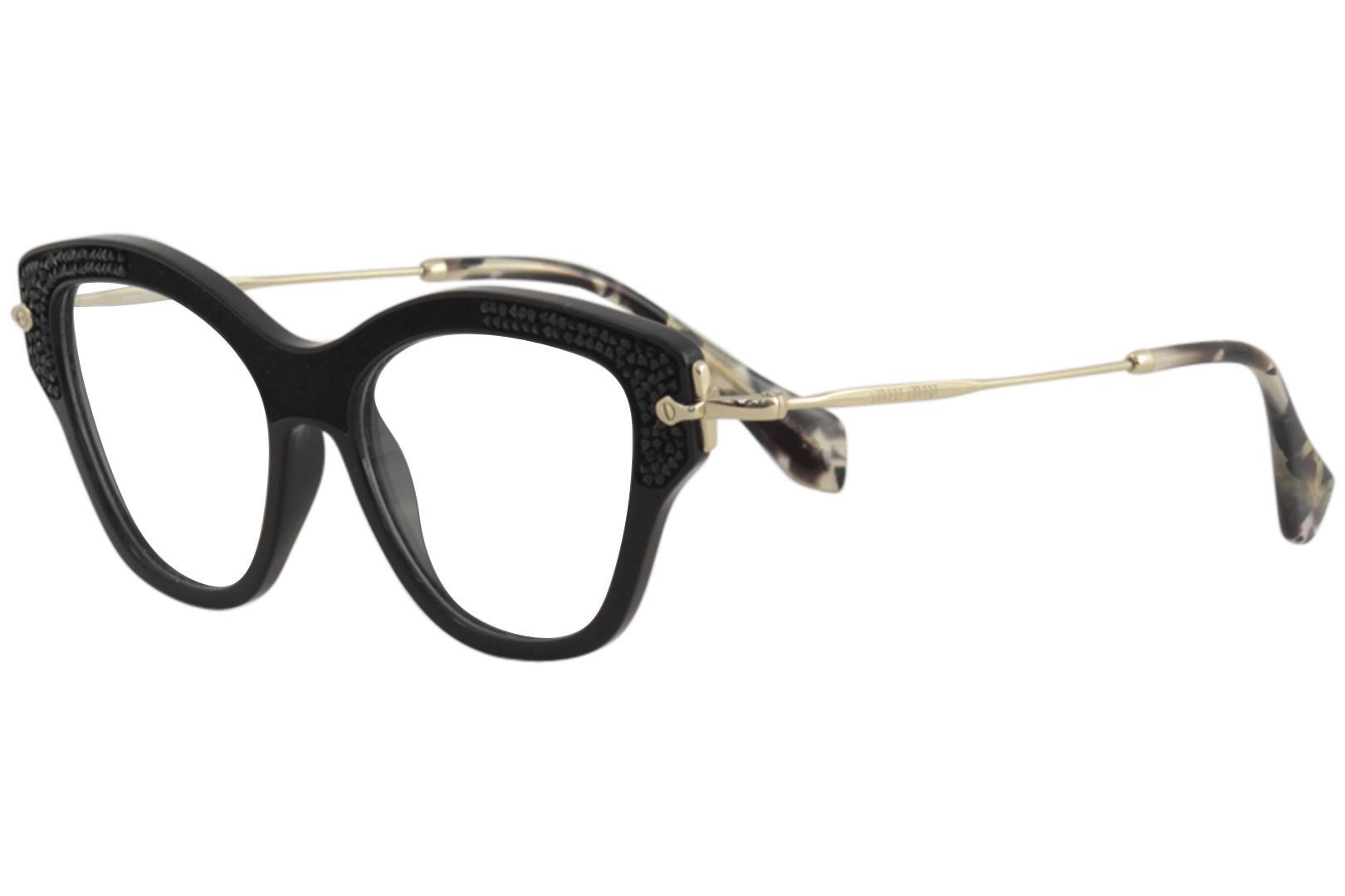 88572d6b37a3 Miu Miu Women s Eyeglasses MU07OV MU 07 OV Optical Frame 52mm