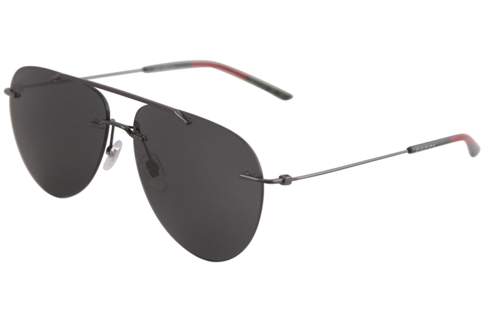 Gucci Men's GG0397S GG/0397/S Fashion Pilot Sunglasses