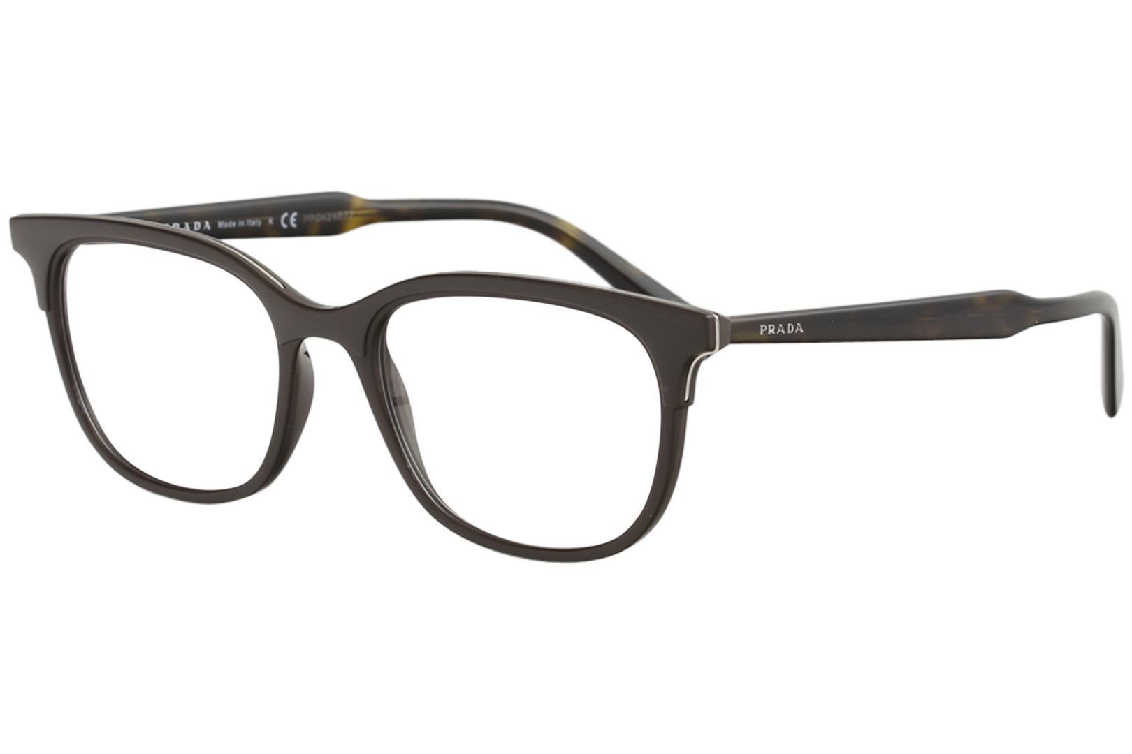 Prada Men\'s Eyeglasses VPR05V VPR/05/V Full Rim Optical Frame