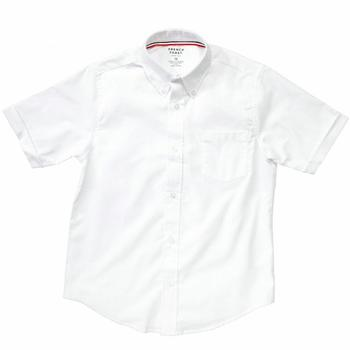 French Toast Boy's Short Sleeve Oxford Uniform Button Up Shirt