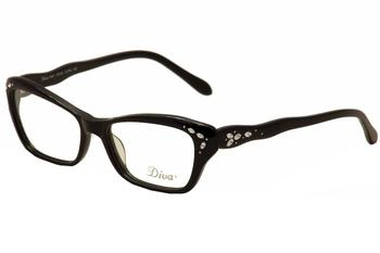 Diva Women's Eyeglasses 5447 Full Rim Optical Frame UPC: