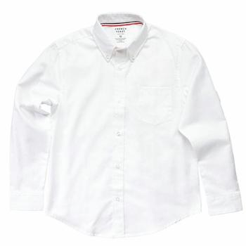 French Toast Boy's Long Sleeve Oxford Uniform Button Up Shirt
