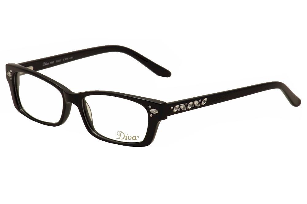 Diva Women\'s Eyeglasses 5365 Full Rim Optical Frame