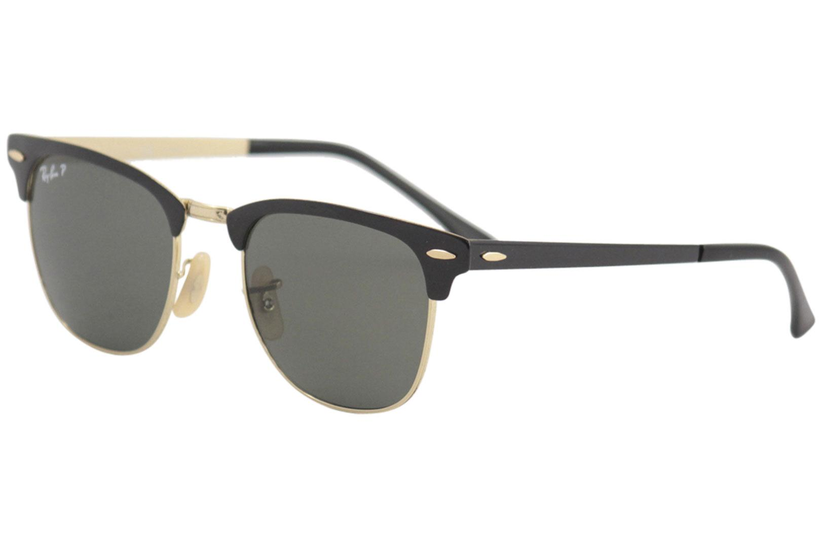 b49b09e905 Ray Ban Clubmaster Metal RB3716 RB 3716 Square RayBan Polarized Sunglasses  by Ray Ban. Touch to zoom